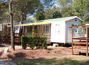 location mobil home Grimaud