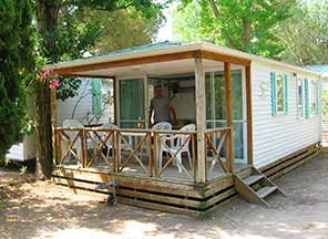location mobil home Aigues Mortes