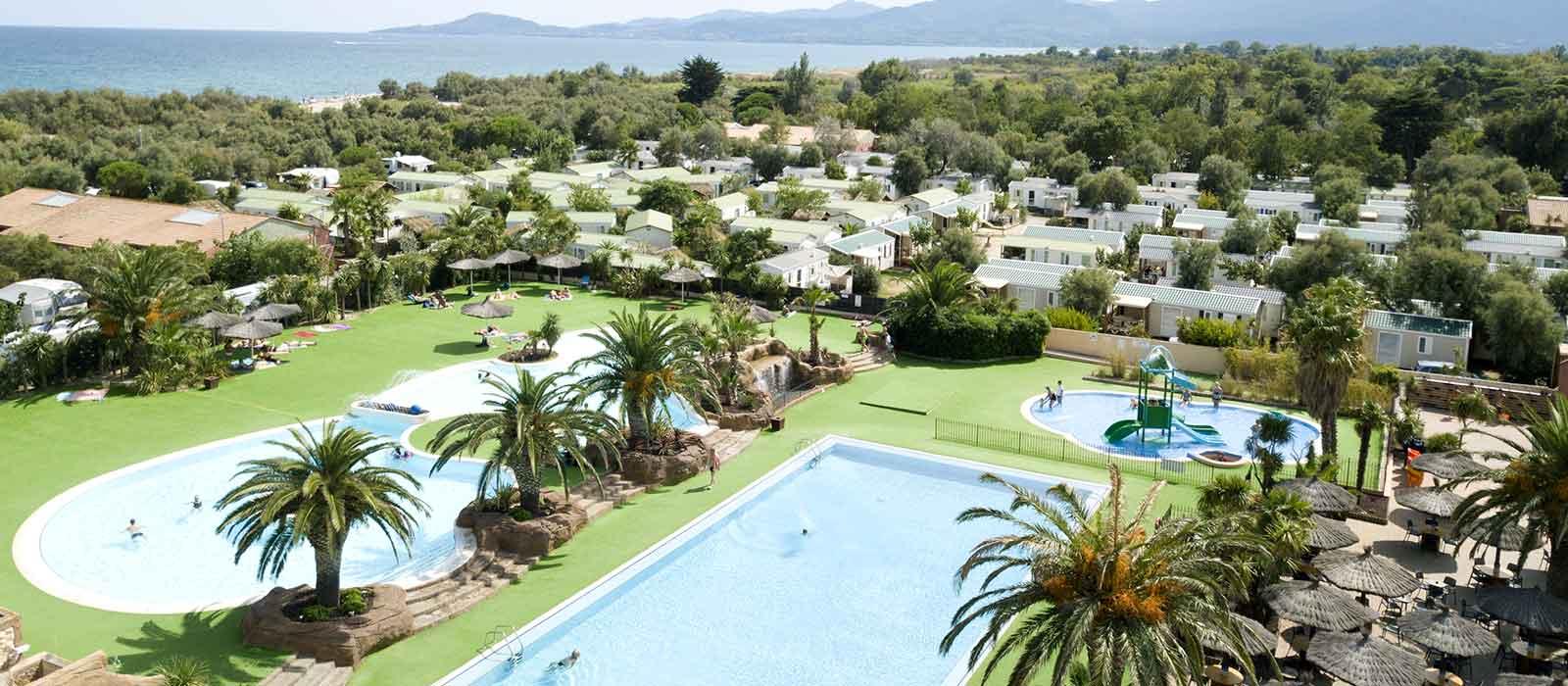 camping en méditerranée